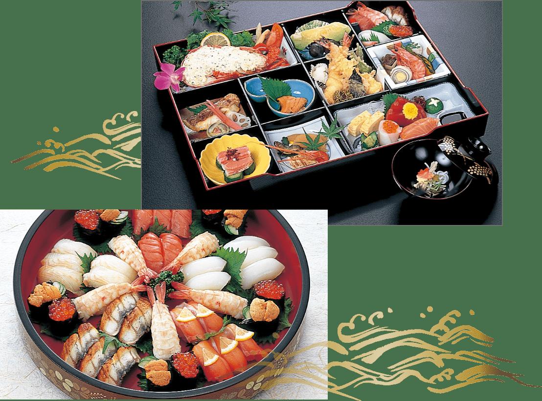 八百鶴の料理写真